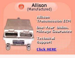 Allison Transmission ECU, TCU Transmission Control Unit Systems