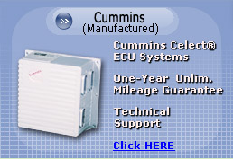 Cummins Celect, Cummins Celect Plus ECU Systems